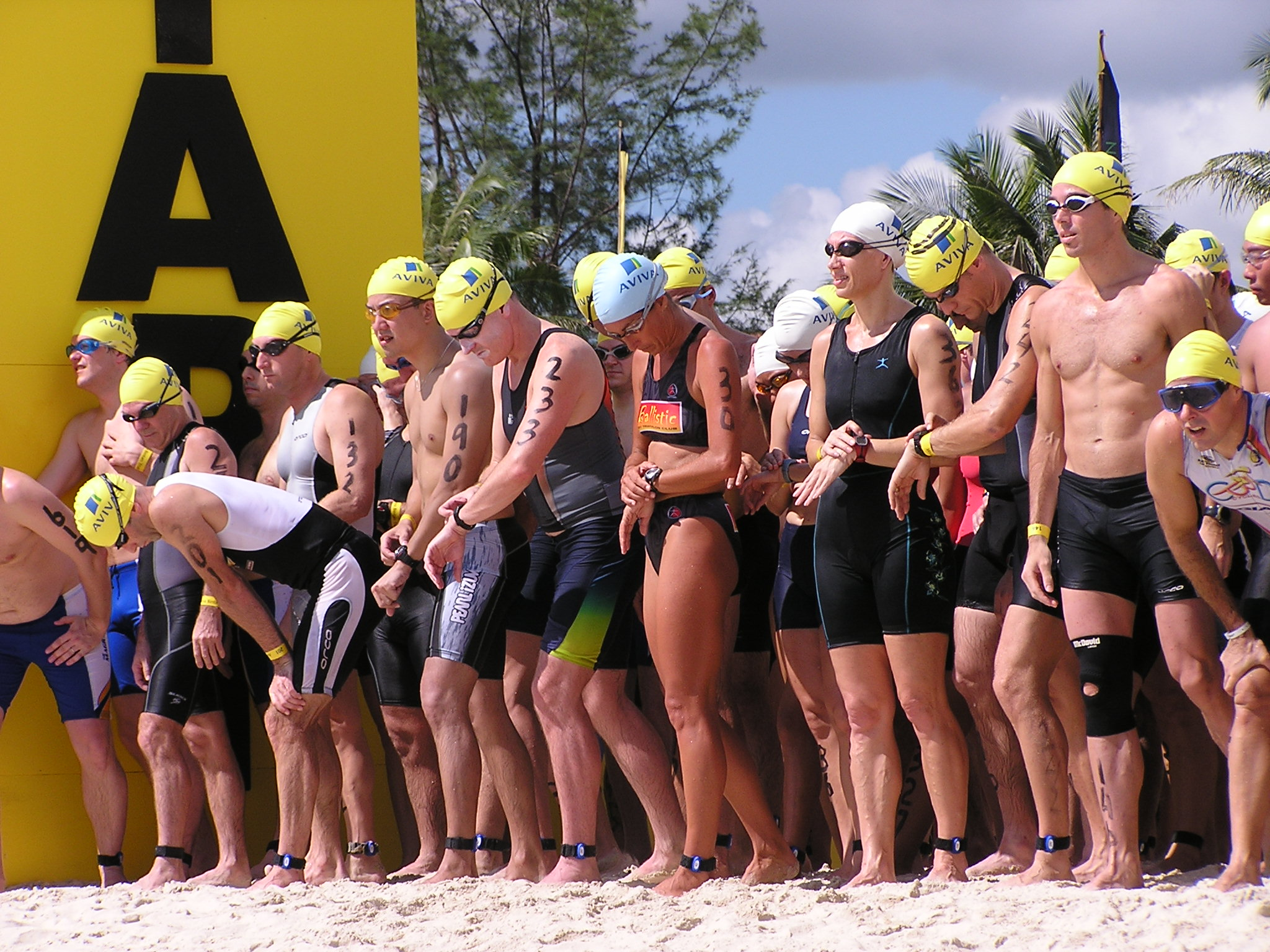 triathlon rfid race timing systems